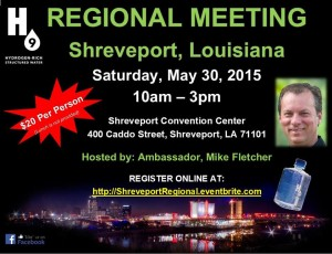 H9 Water Shreveport LA on May 30, 2015