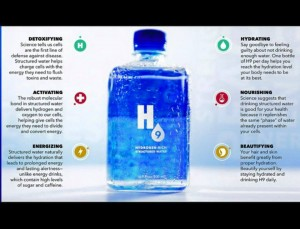 H9 structured water