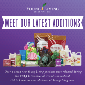 New Young Living Essential Oils Product Release